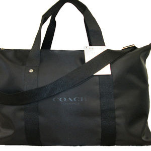 BLACK COACH  WEEKEND BAG /SAC WEEK-END